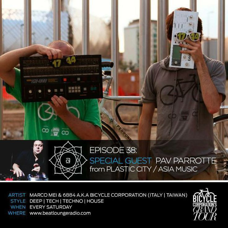 """Getting Ready for Grand Tour - Episode 38 on BeatLounge Radio - Today Special Guest Pav Parrotte from Plastic City / Asia Music- Make sure you know when it will be on air in your time zone, just check the """"Schedule"""" page: http://ow.ly/vHX7t http://www.beatloungerecords.com/artist/bicycle-corporation/"""