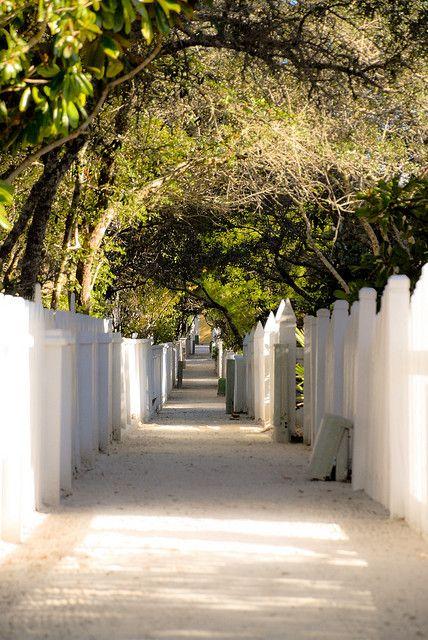 Seaside, FL - Private walkways