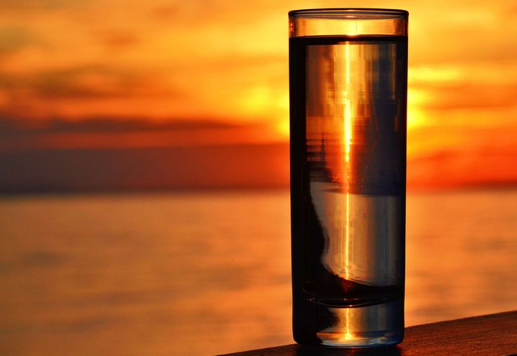 #beverage #color #dawn #drink #dusk #evening #glass by the sea #greece #outdoors #sea #seascape #silhouette #summer #sunlight #sunrise #sunset #table #water glass