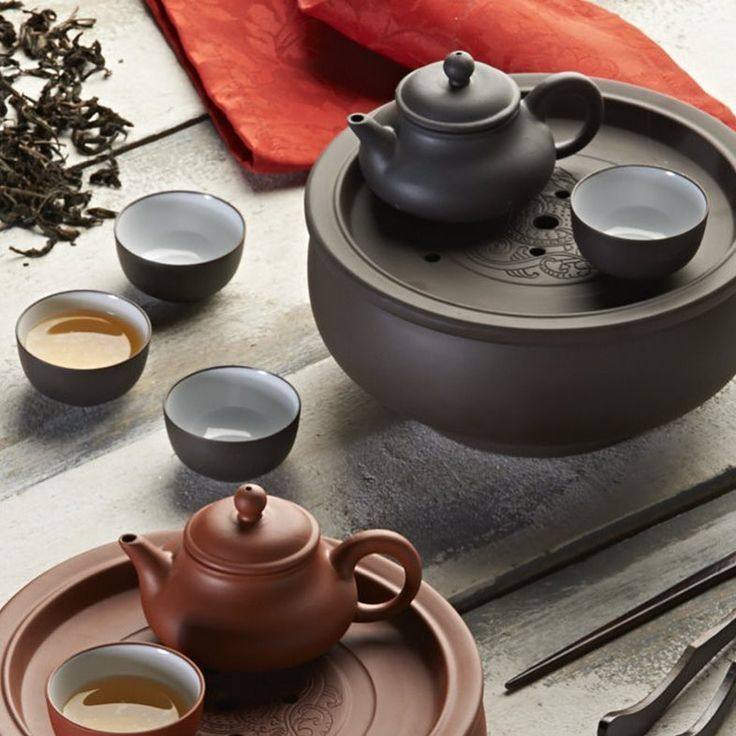 Enjoy Your Tea Everywhere With Thetraditional Chinese Ceramic Travel Tea  Set. Create Your Personal Tea