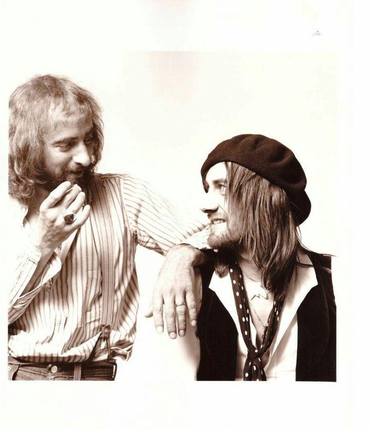 John McVie and Mick Fleetwood of Fleetwood Mac