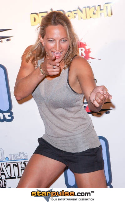 Zoe Bell, the ultimate bad ass.