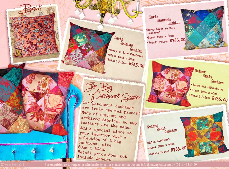 TheBig Patchwork Scatter Cushion