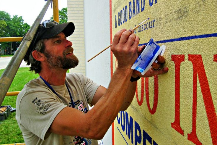 1887 Dodge County Fair poster featured on mural