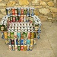 15 Increíbles ideas creativas para reciclar latas - Las Manualidades