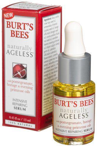 Burt's Bees Naturally Ageless Serum with Pomegranate, Borage