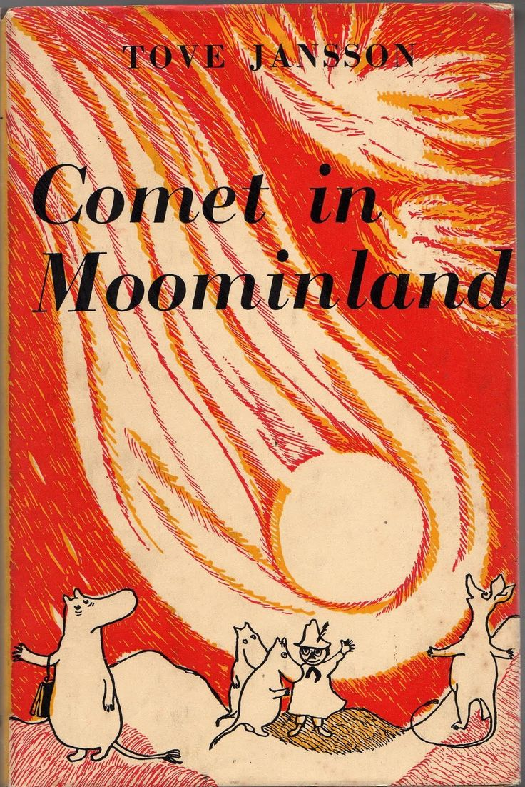 Comet in Moominland cover by Tove Jansson