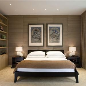 contemporary modern retro bedroom by gary lee - Retro Bedroom Design