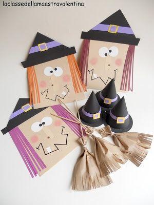 Čarodějnice - papírový sáček