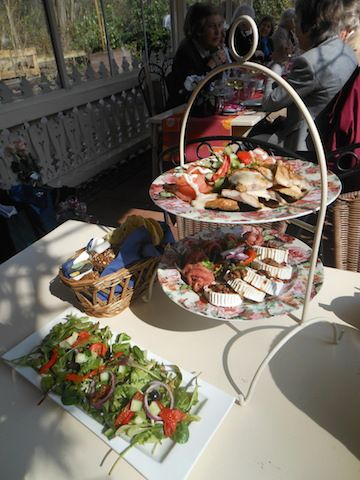 High Lunch bij theepaviljoen Horsten