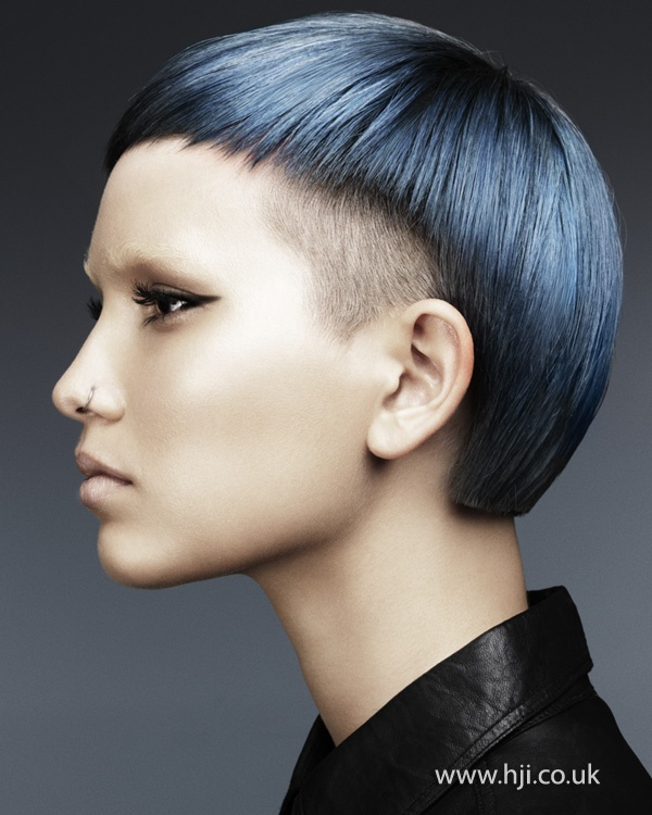 Really striking! Mark Leeson Schwarzkopf Professional Colour Technician of the Year