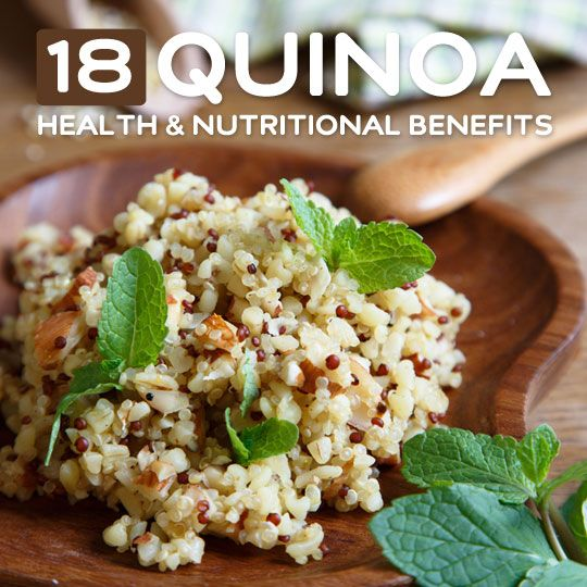 18 Health Benefits of Quinoa- and why you should be eating more of it.