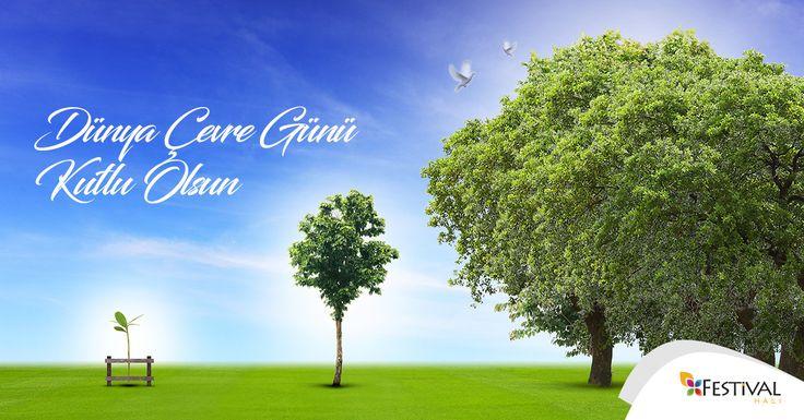 Tohumların fidana, fidanların ağaçlara, ağaçların ormanlara döndüğü bir dünya için el ele verelim. #DünyaÇevreGünü kutlu olsun.