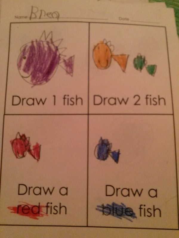 Free downloads and resources for 1 Fish, 2 Fish, Red Fish, Blue Fish #DrSeuss