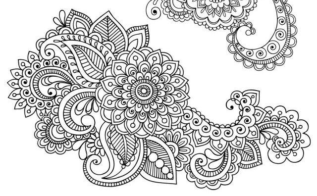 индийские цветы рисунок - Поиск в Google