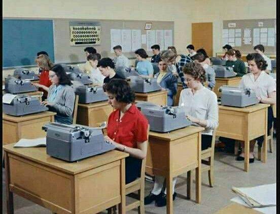 Remember when ... typing class