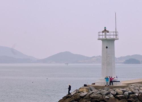 Lighthouses of South Korea: Goheung Area, Nokdong breakwater