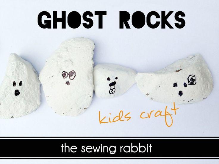 Ghost Rocks Kids Craft - Video