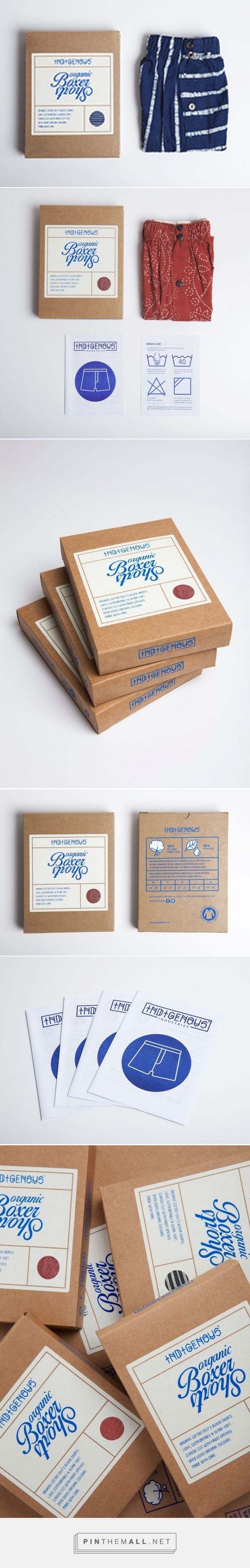 Indigenous Boxer Pack on Packaging of the World - Creative Package Design Gallery... - a grouped images picture - Pin Them All