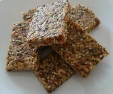 Recipe Figs and Seeds Bars - no bake and nut free by Lenka Thermie Taylor - Recipe of category Desserts & sweets
