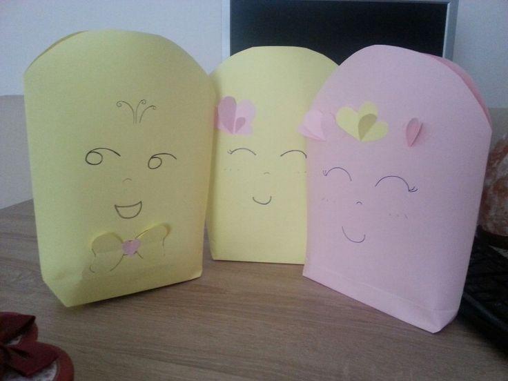 Hoşgeldin Sare. minik Kuzenlere hediyeler için sevimli paketler.