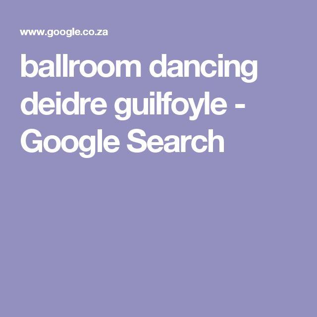 ballroom dancing deidre guilfoyle - Google Search