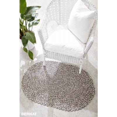 Free Easy Rug Crochet Pattern Bernat Yarnspirations
