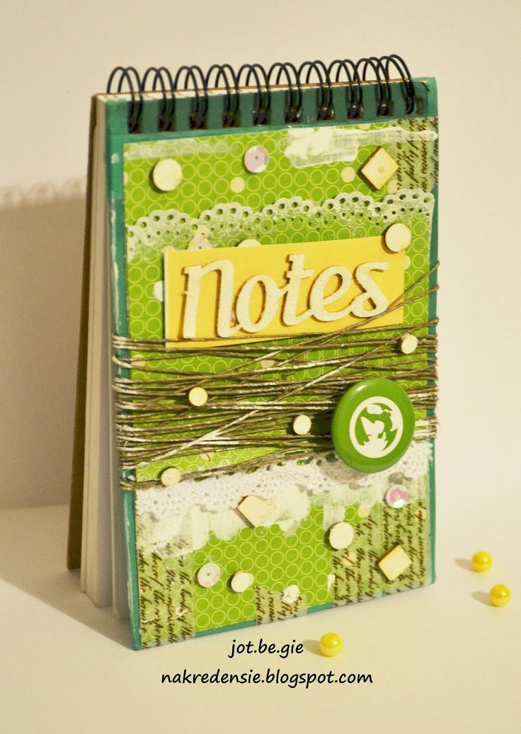 NA KREDENSIE: Notes na SDO -  - made basen on ScrapAndMe SDO tutorial by jot.be.gie