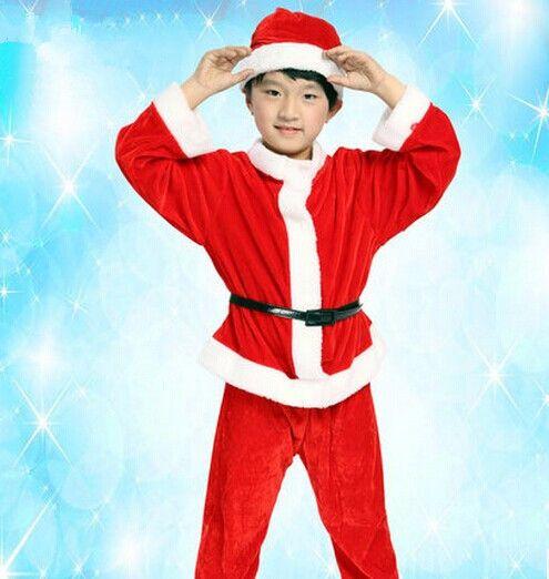 Дед мороз костюм для мальчиков дед санта клаус детский костюм санта-клауса одежда новый год костюмы для мальчиков рождественские подарки