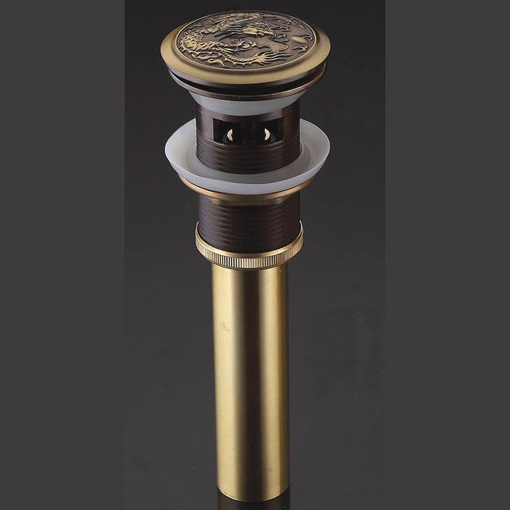 Торгово-люкс латуни поп-воздушными крылом, Польский и бронзовый цвет, Используется в керамической бассейна, Дракон дизайн, L15350