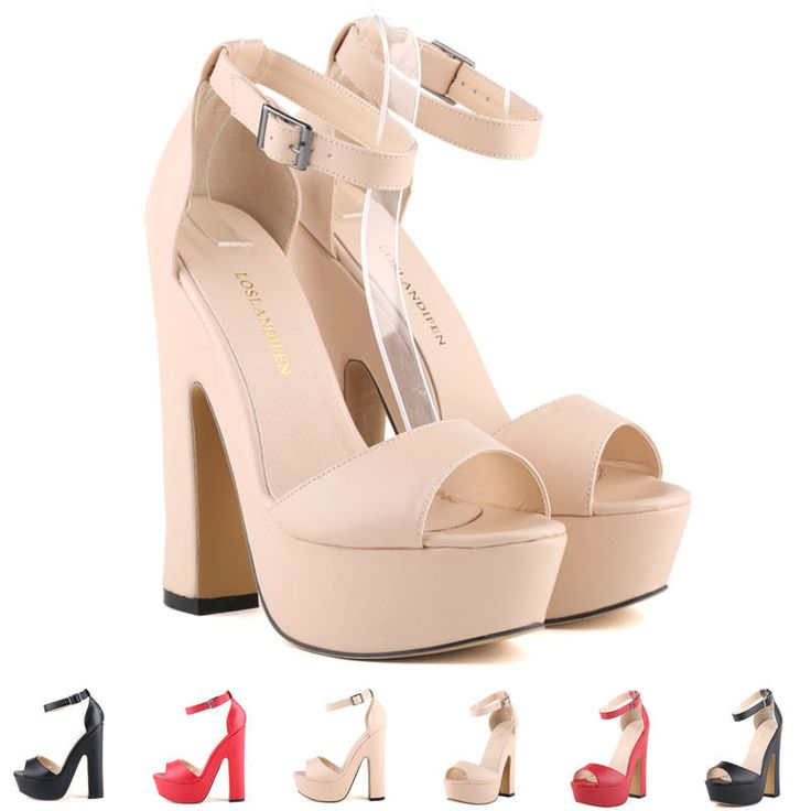 Size :UK Size:UK2-9 / EU35-42. Available in a Wide Variety of Colours and Materials. For sizes, hope allow 1-2cm differs due to manual measurement, the size printed under the Shoes is the Our SIZES. Heel shape: Block. | eBay!