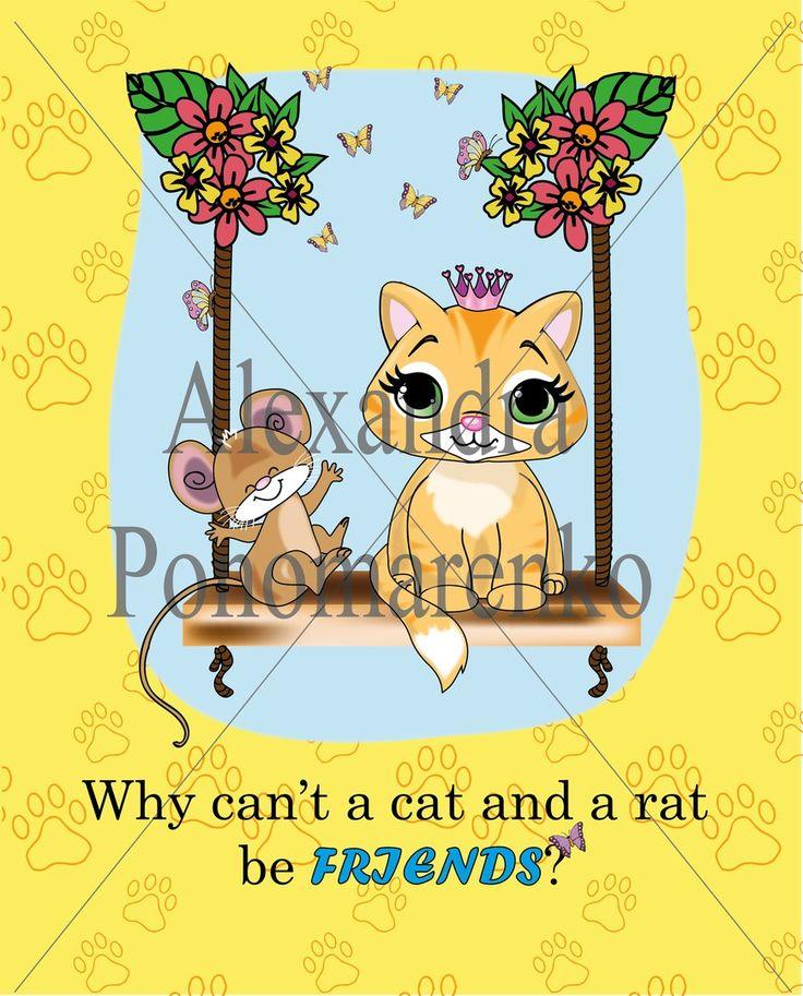 #princess_kitty #book_illustration #kitten #mouse #friends #drawing #illustration #cartoon_illustration #drawing #digital_art #sketch_book #рисунок_на_заказ #lovewhatido #inspiration
