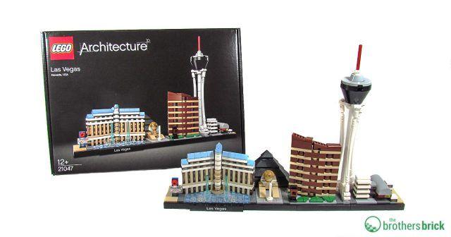 Lego Architecture 21047 Las Vegas Review The Brothers Brick Lego Architecture Lego Architecture Set Lego