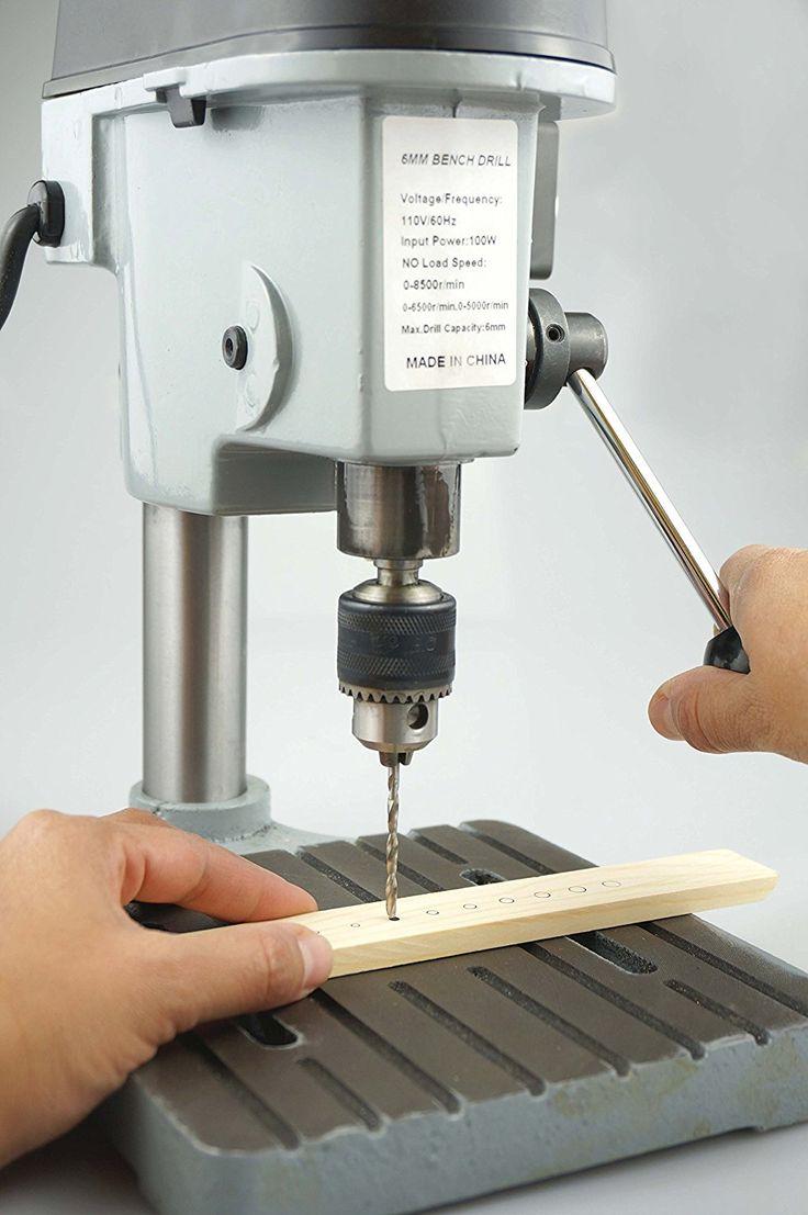 SE 97511MDP 3-Speed Mini Drill Press Bench for Jewelers & Hobbyists http://bigdealhq.com/best-small-drill-press