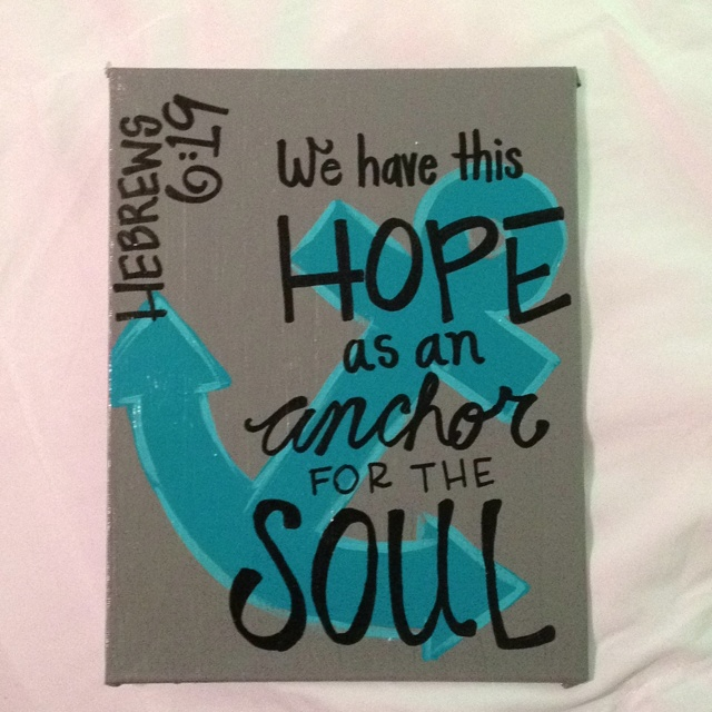 132 Best Images About Hebrews 619 Hope Anchors The Soul
