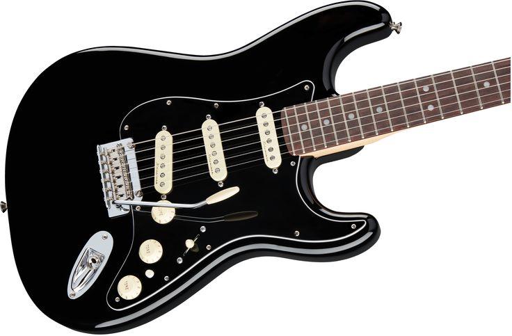 Fender Deluxe Stratocaster®, Rosewood Fingerboard, Black