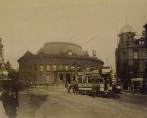 The Corn Exchange opened 1863 Briggate Leeds from Leeds Back in the Day.