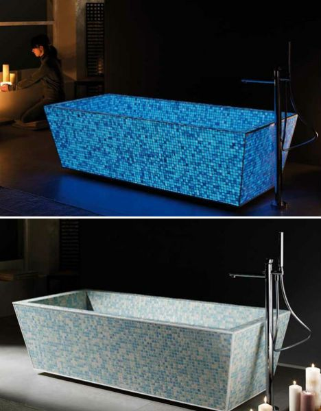 17 best images about glow in the dark cool ideas and for Most comfortable tub reviews