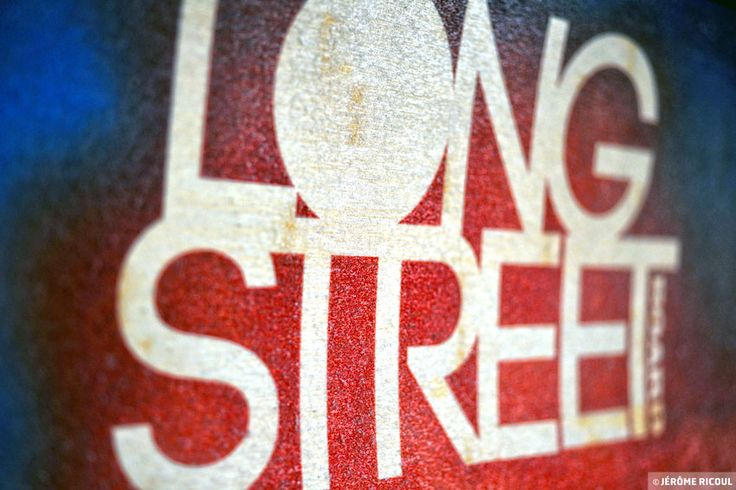 Long street, boards for surfers