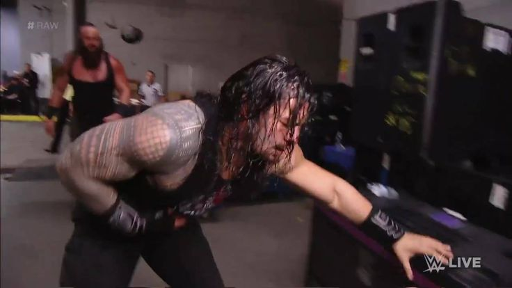 Roman Reigns' interview with Michael Cole was cut short when a FURIOUS Braun Strowman emerged to absolutely DECIMATE The Big Dog on WWE Raw!