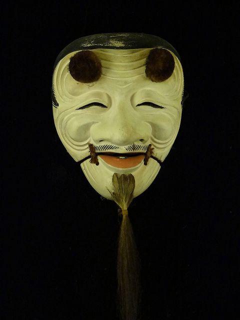 Japanese Noh Mask: photo by Rekishi no Tabi, via Flickr