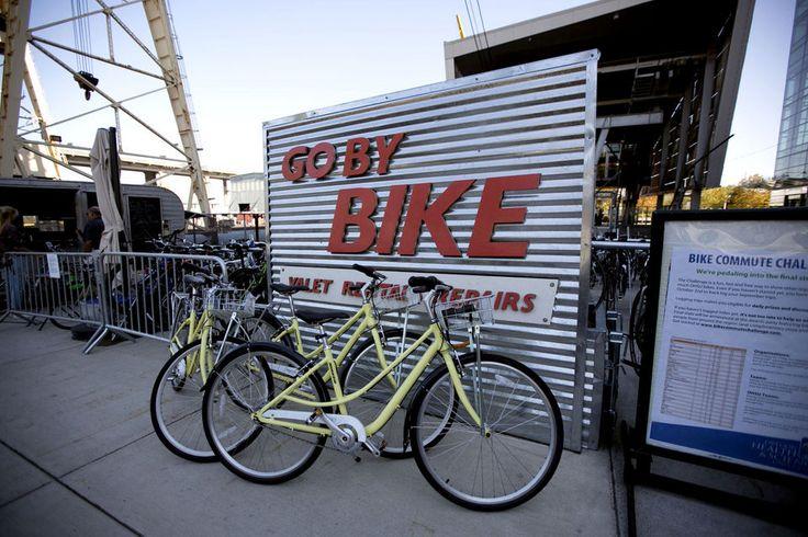 Portland's free bike valet