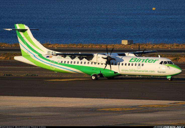 ATR ATR-72-500 (ATR-72-212A) - Binter Canarias (Naysa - Navegacion y Servicios Aereos Canarios)   Aviation Photo #1727406   Airliners.net