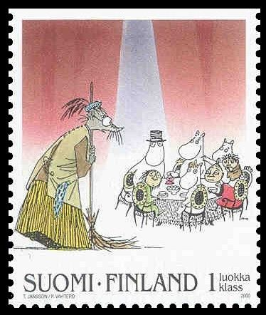 moomin stamp.