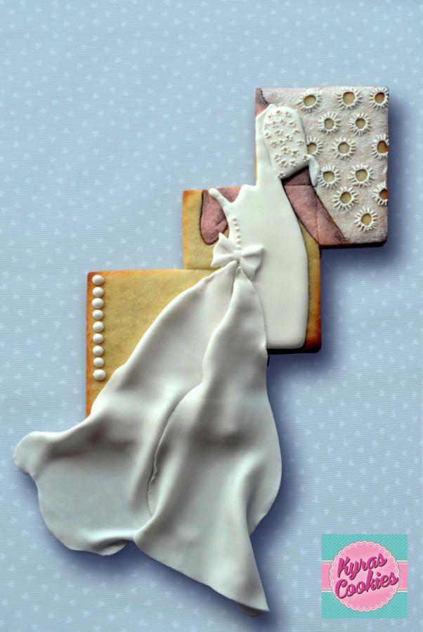 Wedding Cookie  by Anna Bonilla