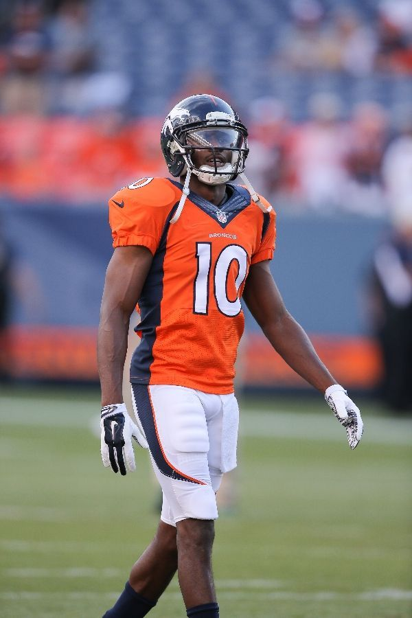 Emmanuel Sanders, my favorite Denver Bronco since Terrell Davis and Rod Smith. He Rocks it on and off the field.