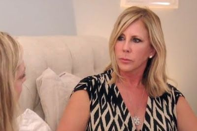 """Vicki Gunvalson Believes That Shannon Beador """"Is One Of The Main Reasons Why"""" She Hasn't Been Able To Reconcile With Tamra Judge!"""