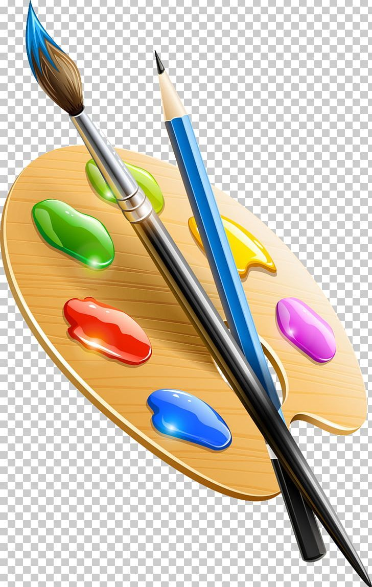 Palette Paintbrush Painting Art Png Clipart Art Artist Brush Cutlery Drawing Free Png Download Painting Logo Paint Brushes Art Painting