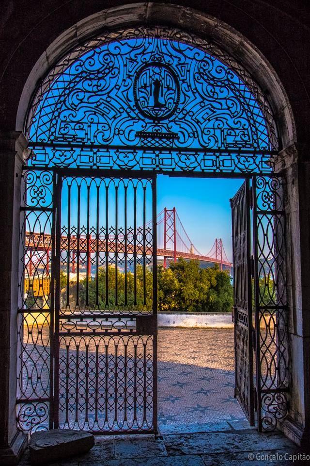 Capela do Alto de Santo Amaro Lisboa, Portugal...