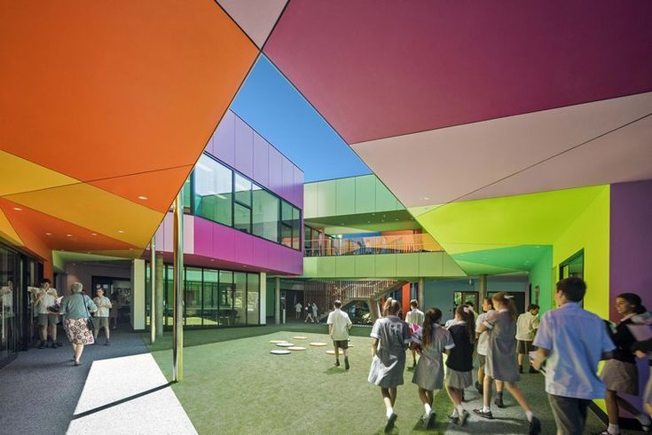 Ivanhoe Grammar Senior Years & Science Centre, Melbourne, 2015 - McBride Charles Ryan